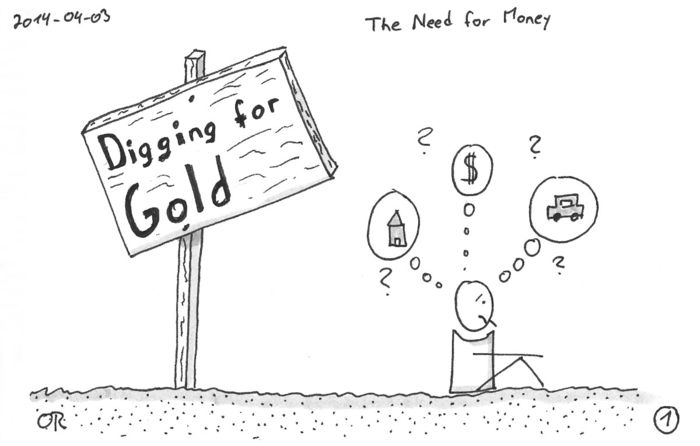 Doodle Break: Digging for Gold
