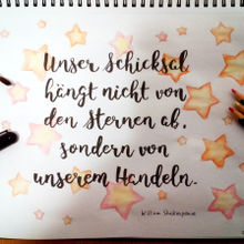 William Shakespeare - Unser Schicksal